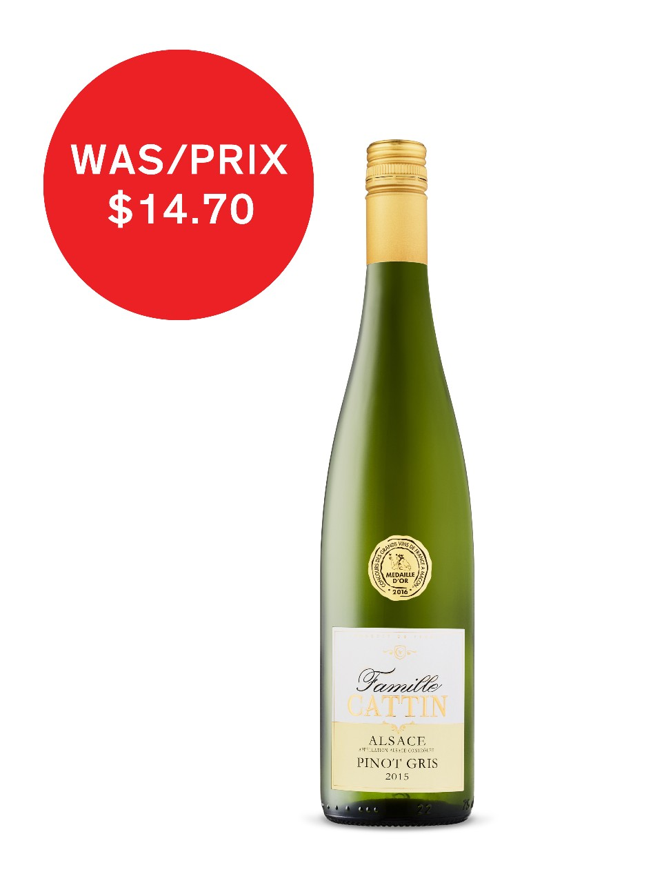 Famille Cattin Pinot Gris Alsace AOC | LCBO