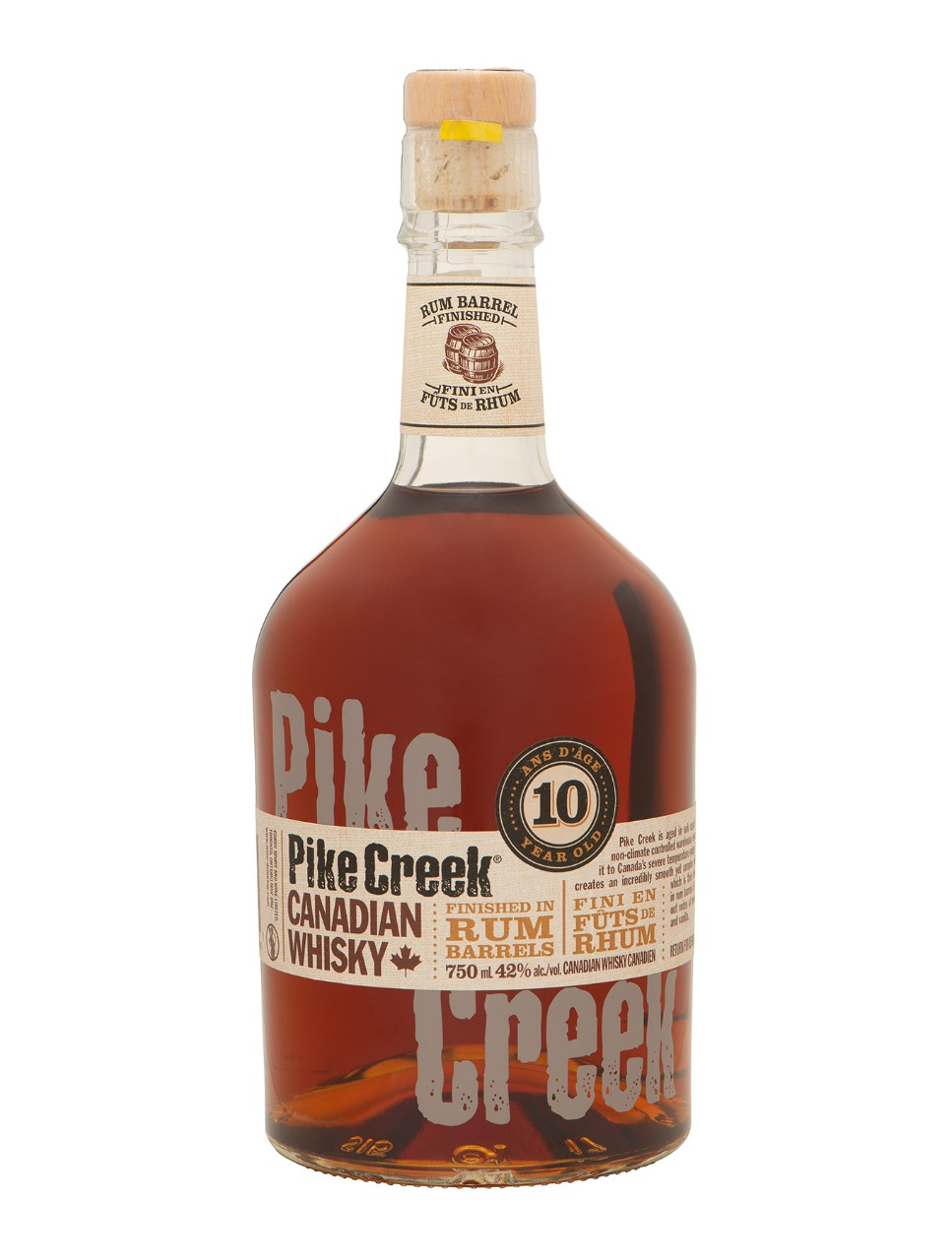 3f51d7013e22 Image for Pike Creek Double Barreled Canadian Whisky from LCBO