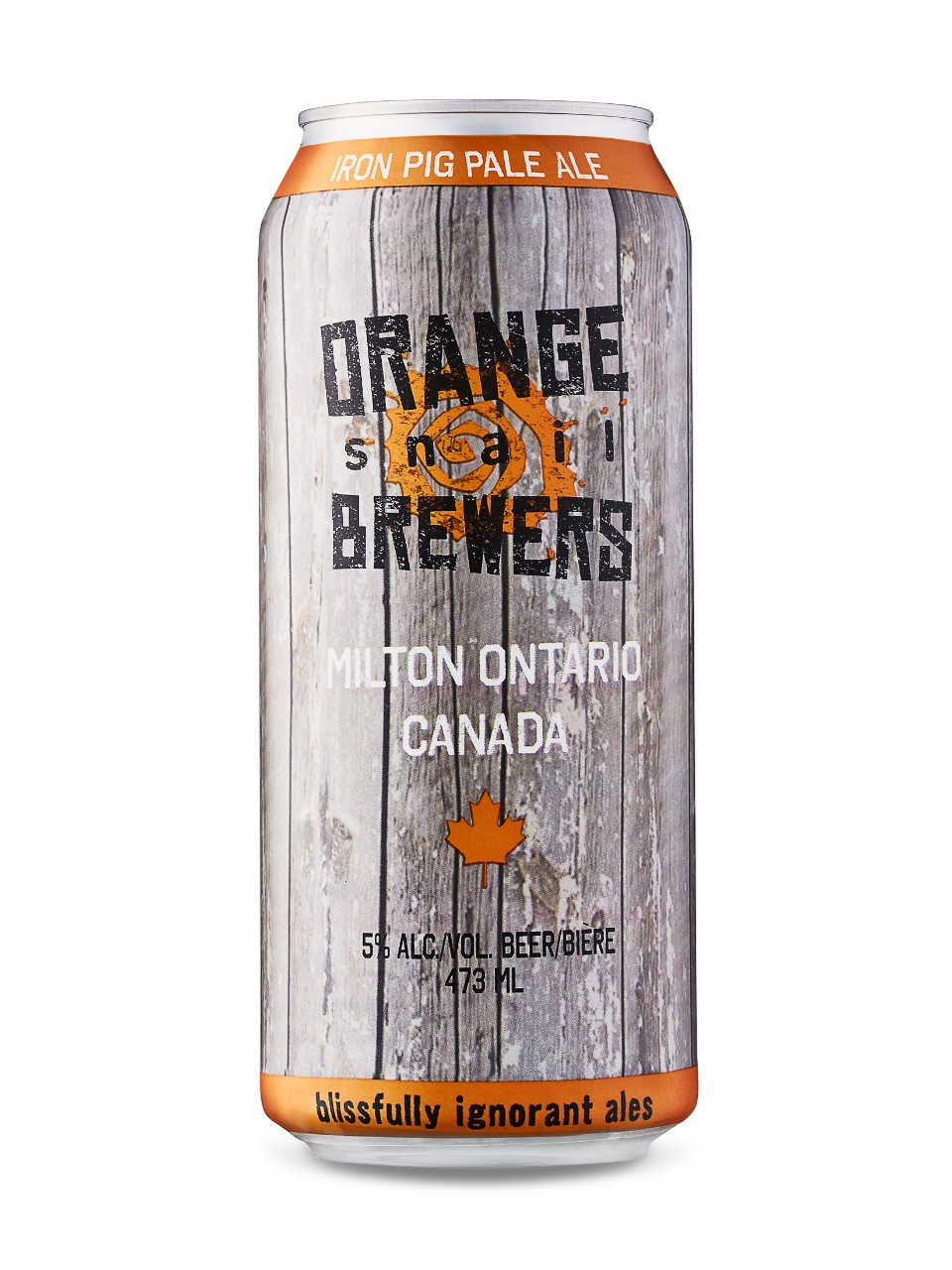 Image for Orange Snail Iron Pig Pale Ale from LCBO