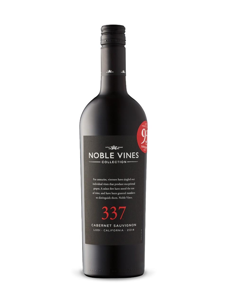 Noble Vines 337 Cabernet Sauvignon 2017 from LCBO