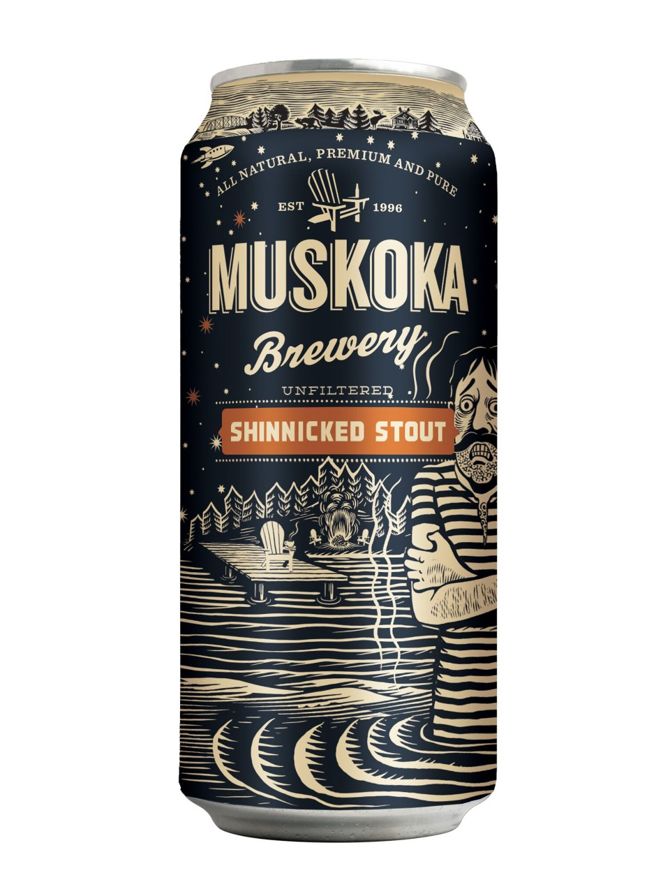 Image for Muskoka Shinnicked Stout from LCBO