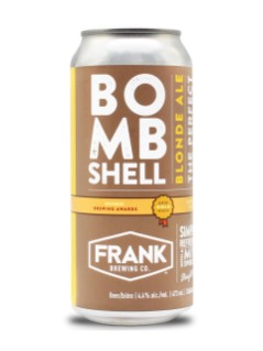 Frank Brewing Bombshell Blonde Ale
