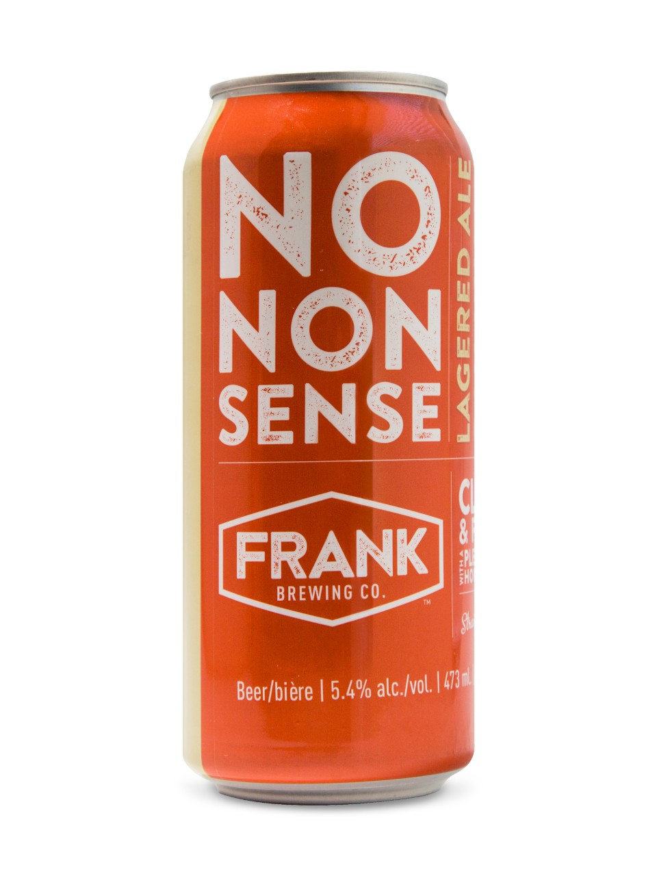 Frank Brewing No Nonsense Lagered Ale from LCBO