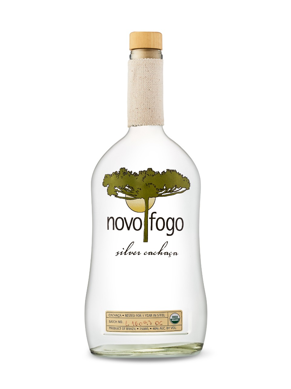 Image for Novo Fogo Silver Cachaca from LCBO