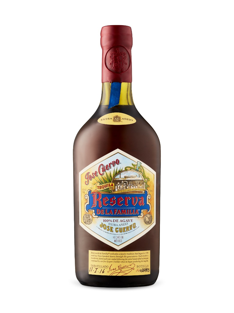 Image for Jose Cuervo Reserva De La Familia from LCBO