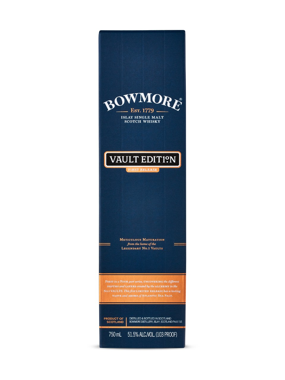 Image for Bowmore Vault Edition Islay Single Malt Scotch Whisky 1st Release from LCBO