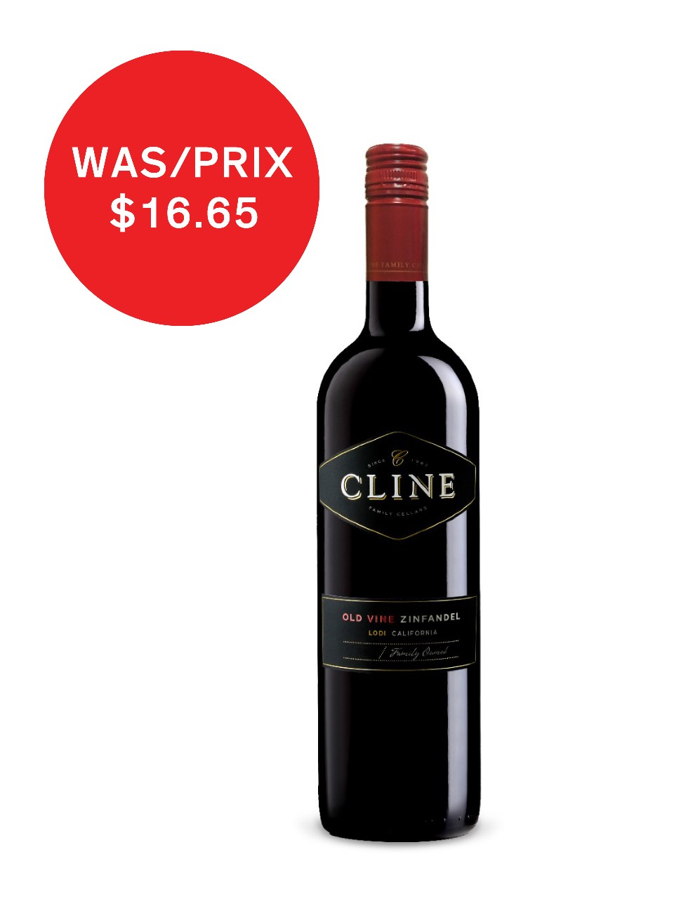 Image for Cline Zinfandel from LCBO