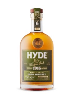 Hyde 1916 Single Grain Bourbon Matured Irish Whiskey