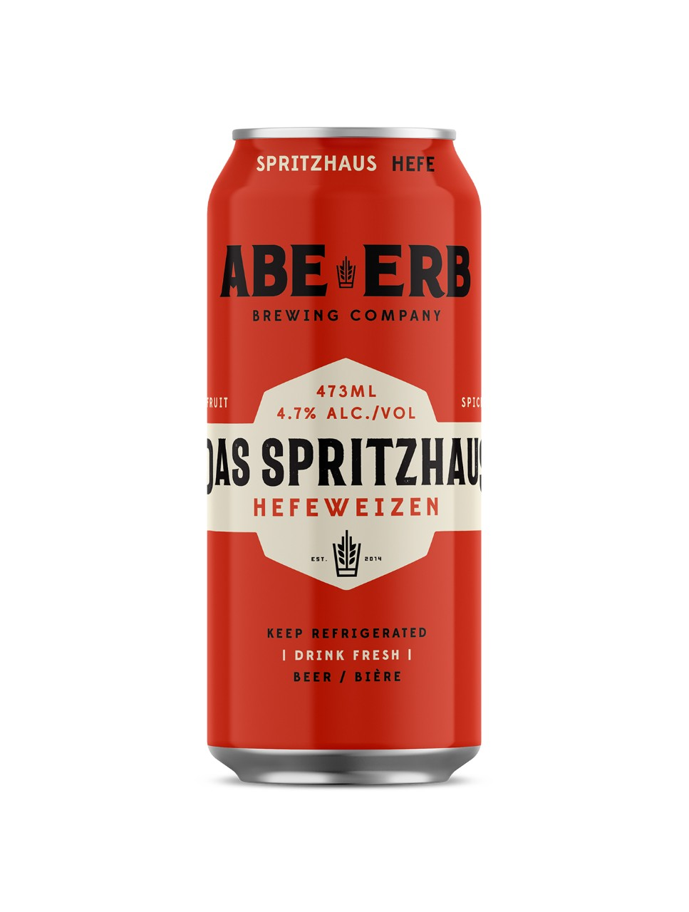 Image for Abe Erb Brewing Das Spritzhaus Hefeweizen from LCBO