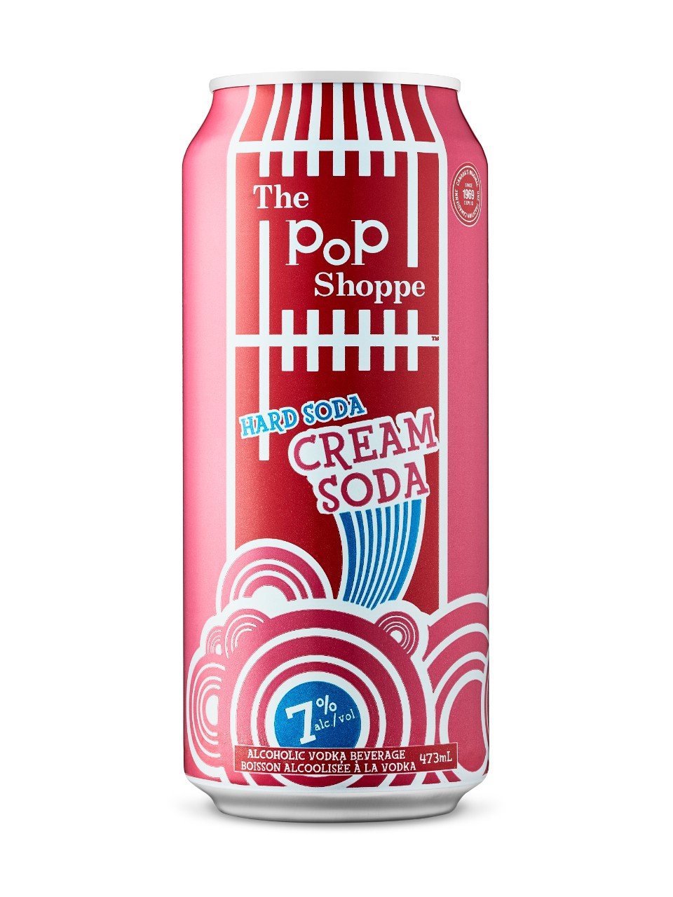 Image for Pop Shoppe Hard Cream Soda from LCBO