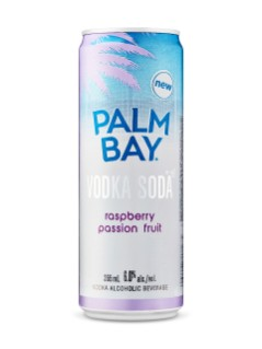 Palm Bay Raspberry Passionfruit Vodka Soda