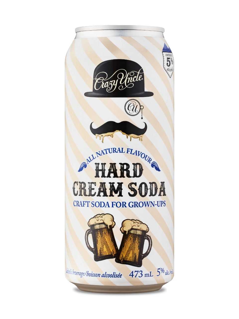 Image for Crazy Uncle Hard Cream Soda For Grown Ups from LCBO