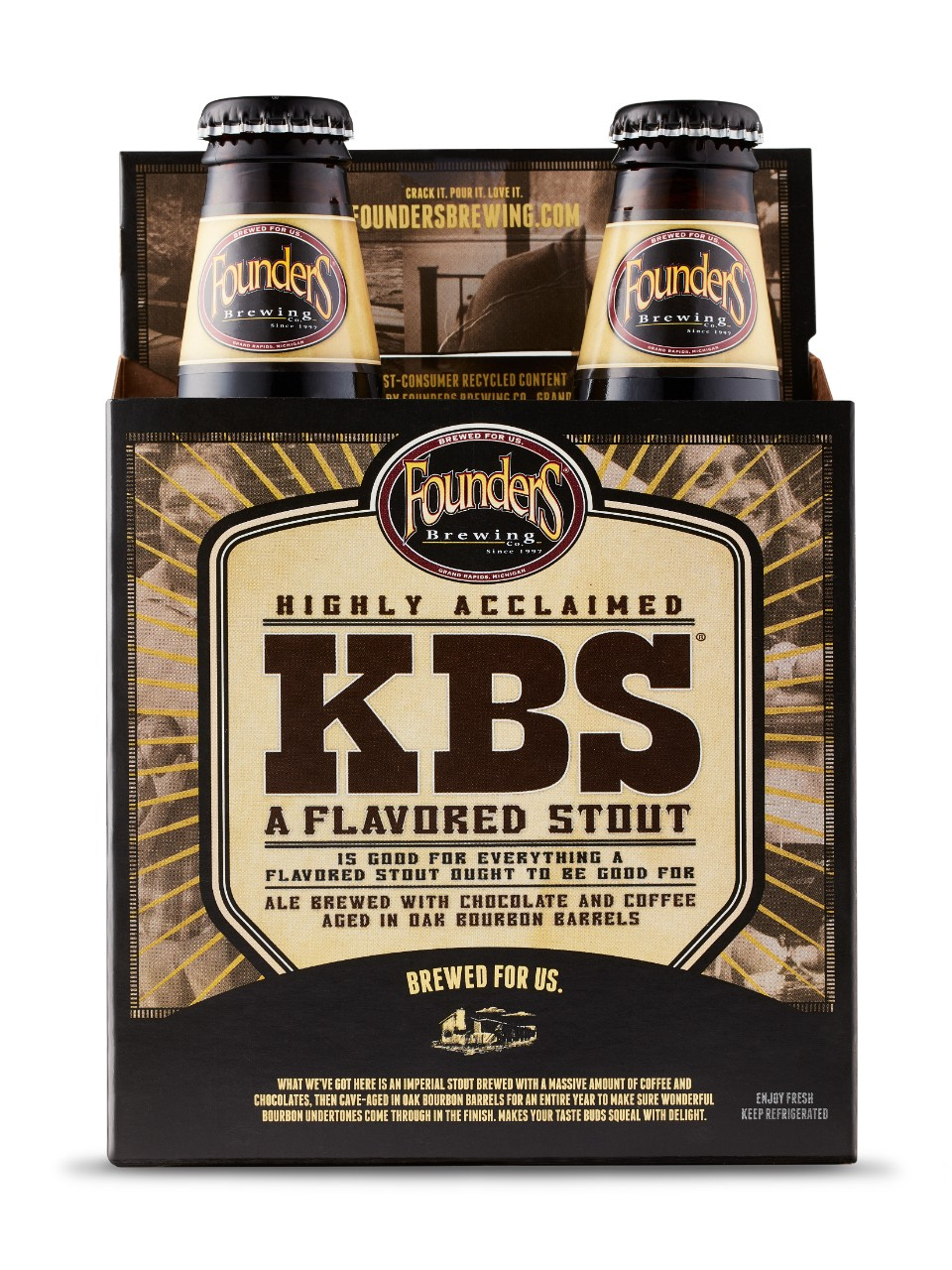 Founders KBS Stout                                                                                                              -A