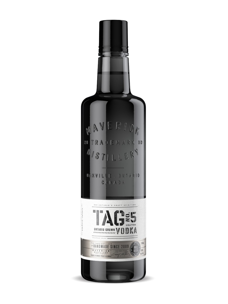 Image for Tag No. 5 Vodka (PET) from LCBO