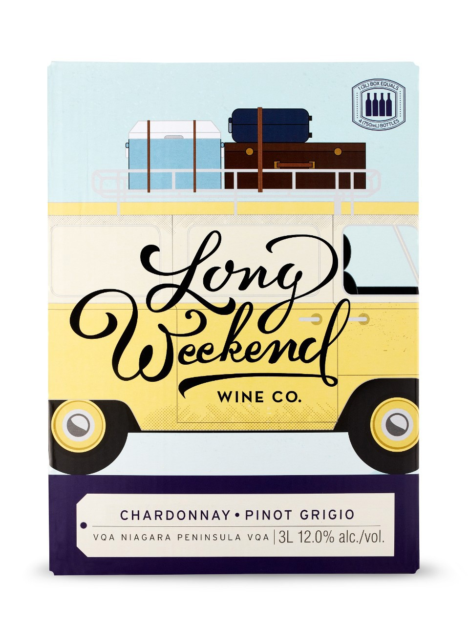 Image for Fielding Long Weekend Wine Co. Chardonnay Pinot Grigio VQA from LCBO