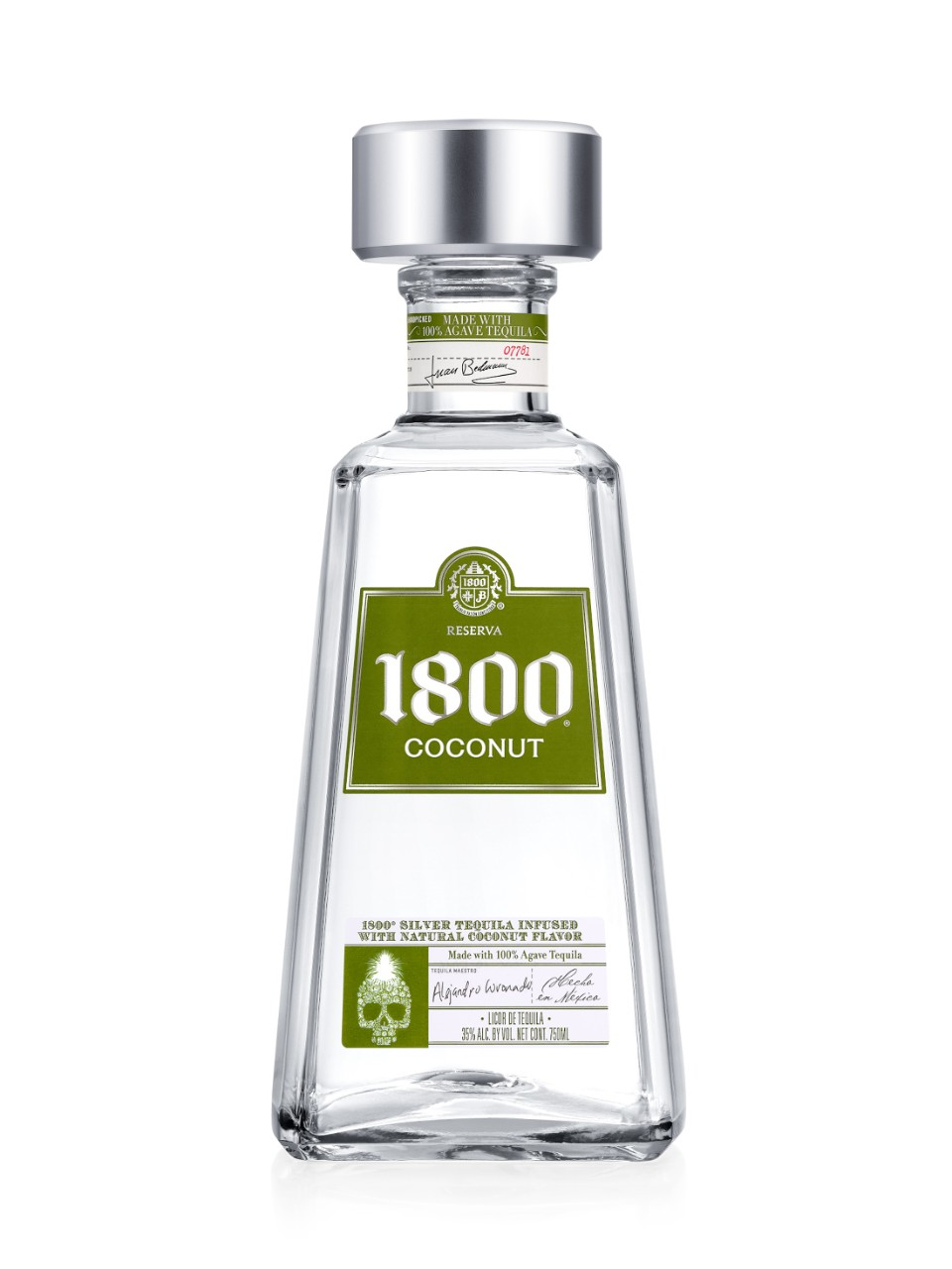 Image for 1800 Coconut Tequila from LCBO