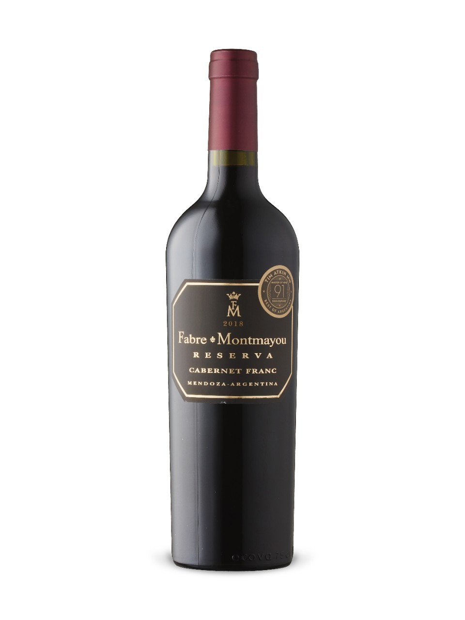 Image for Fabre Montmayou Reserva Cabernet Franc 2016 from LCBO