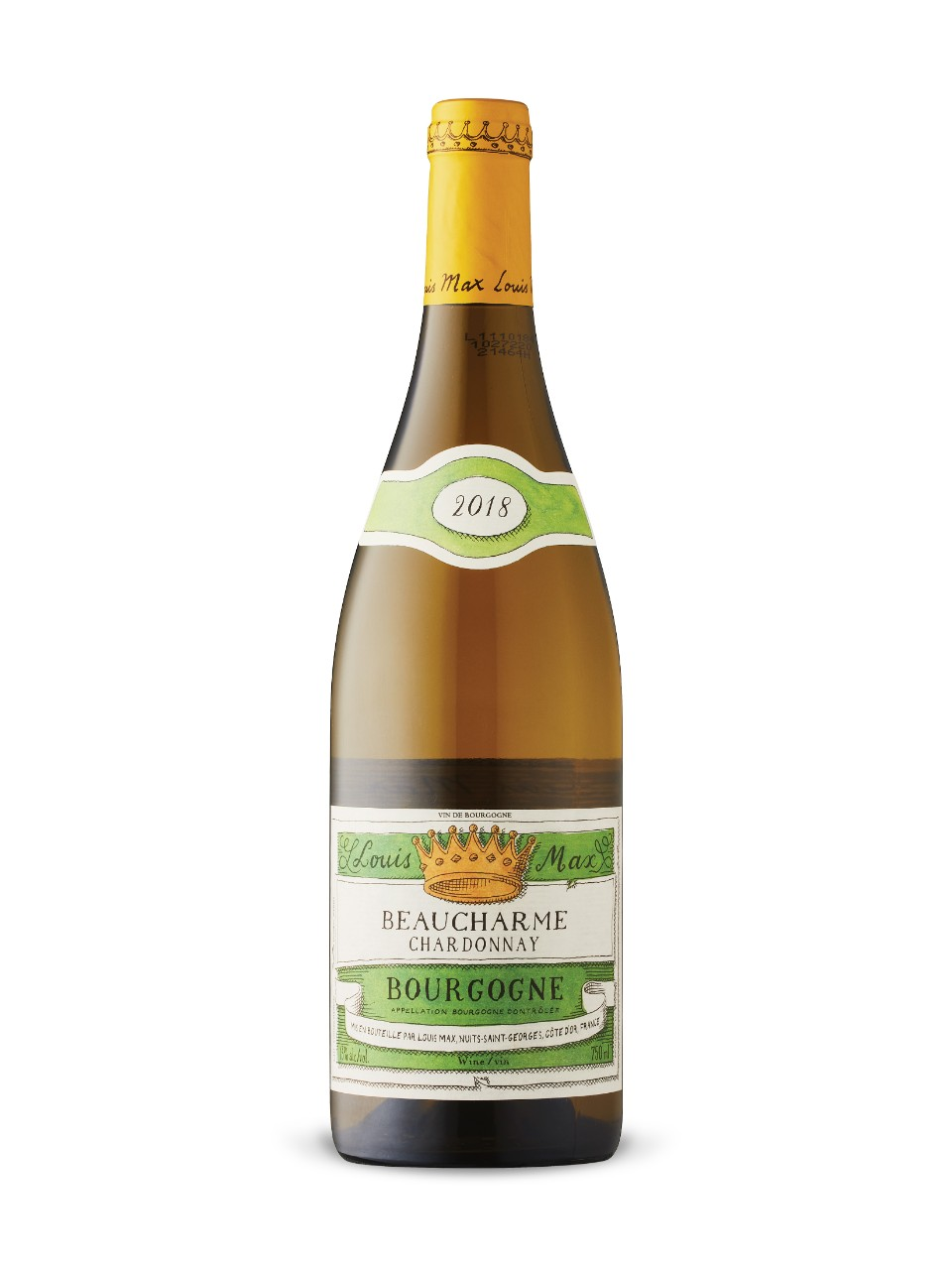 Louis Max Beaucharme Bourgogne Chardonnay 2018 from LCBO
