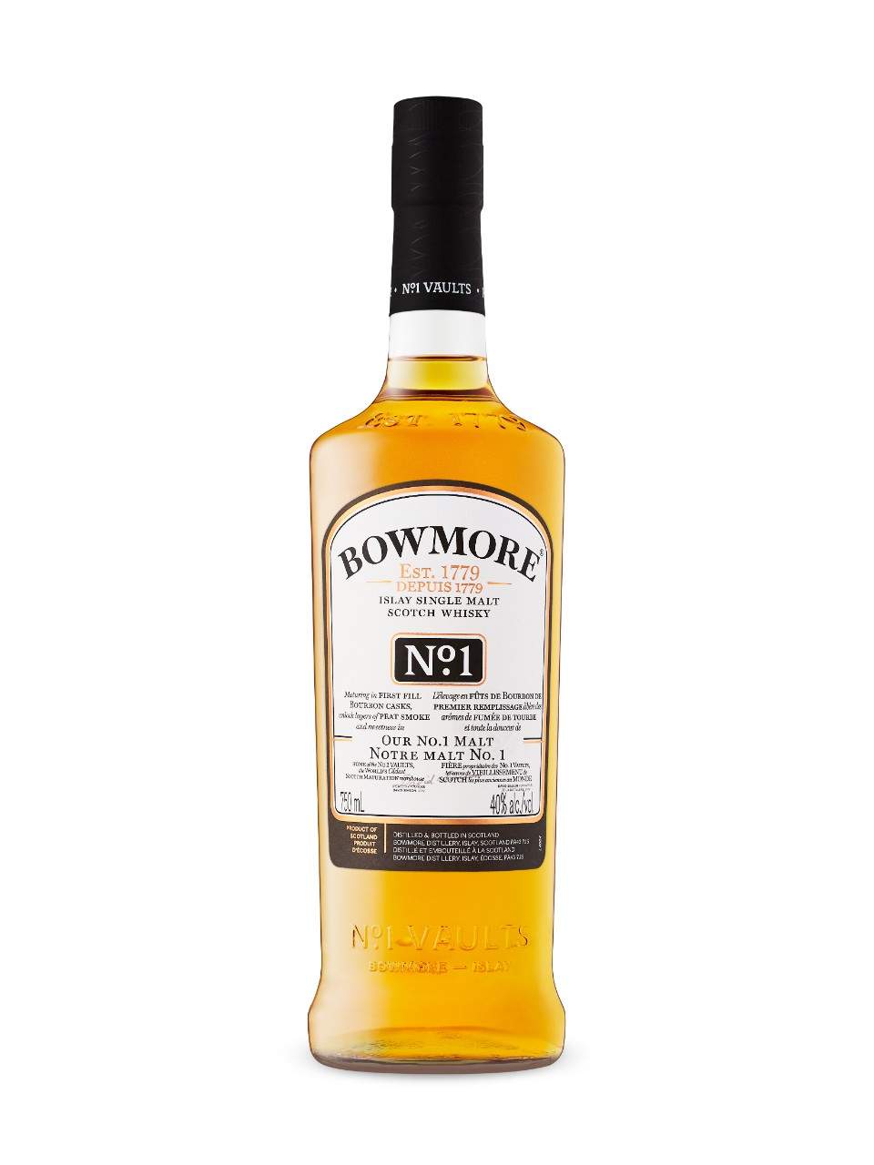 Image for Bowmore No. 1 Islay Single Malt Scotch Whisky from LCBO