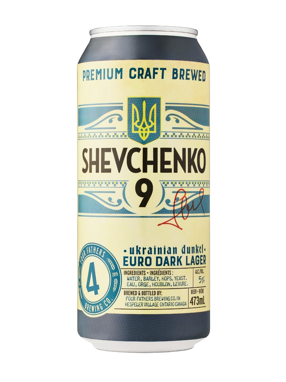 Image for Four Fathers Brewing Shevchenko 9 + from LCBO
