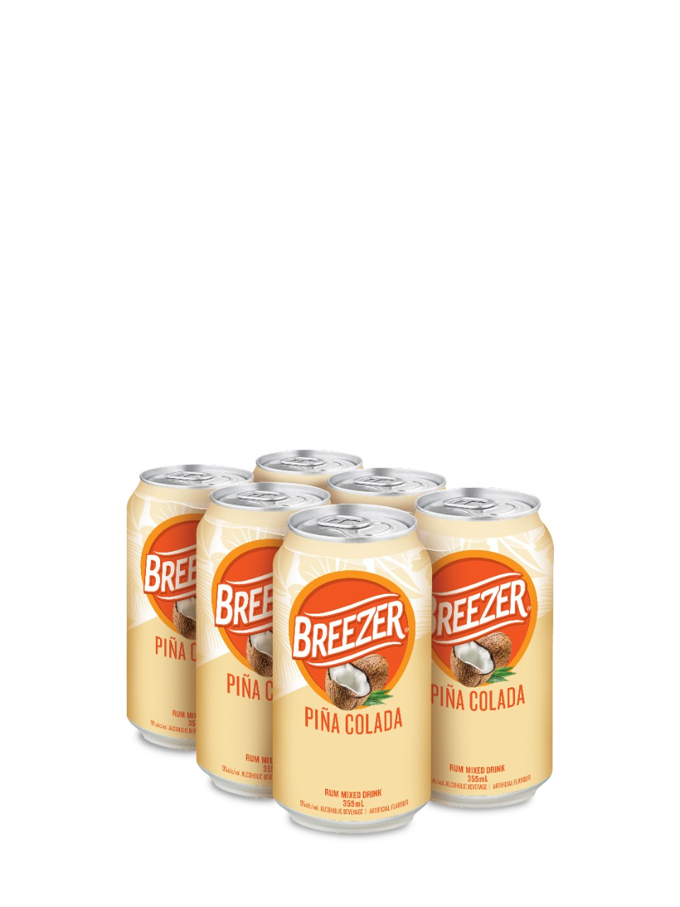 Image for Bacardi Breezer Pina Colada from LCBO