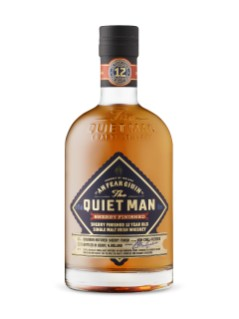 Quiet Man 12 Year Old Single Sherry Finish Irish Whiskey