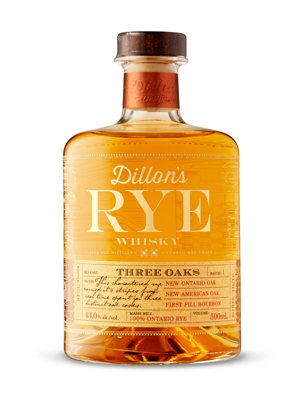 Image for Dillon's Rye Whisky from LCBO