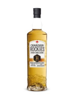 Whisky Canadian Rockies 21 ans