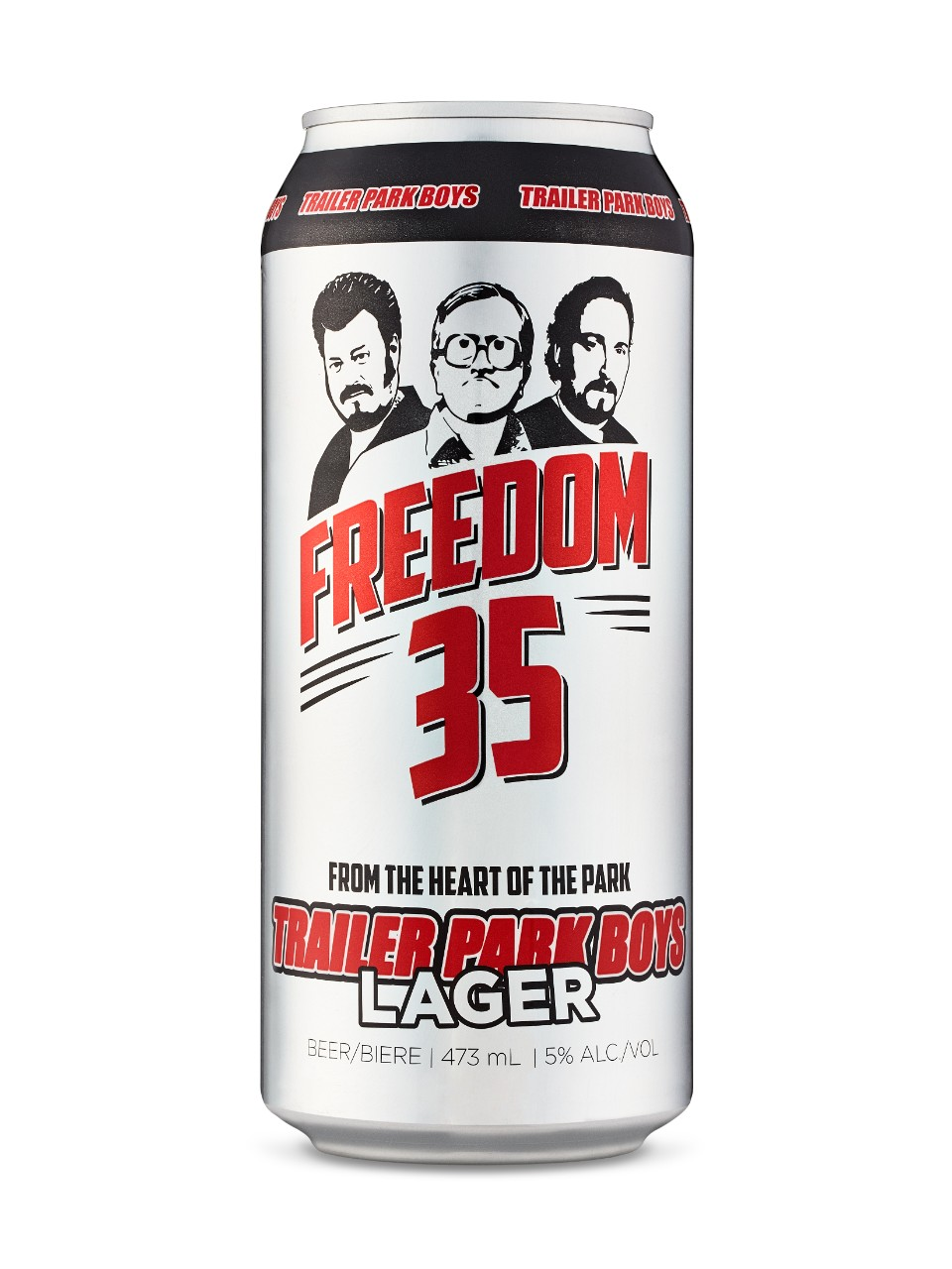 Trailer Park Boys Freedom 35 Lager from LCBO