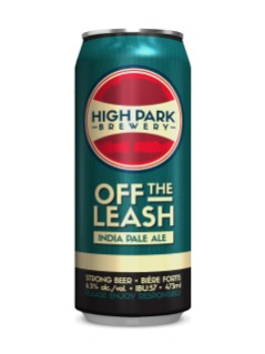 High Park Brewery Off the Leash IPA