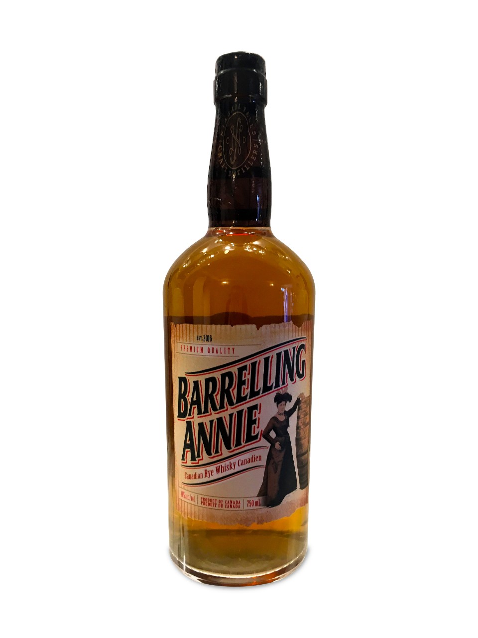 Barrelling Annie's Canadian Whisky