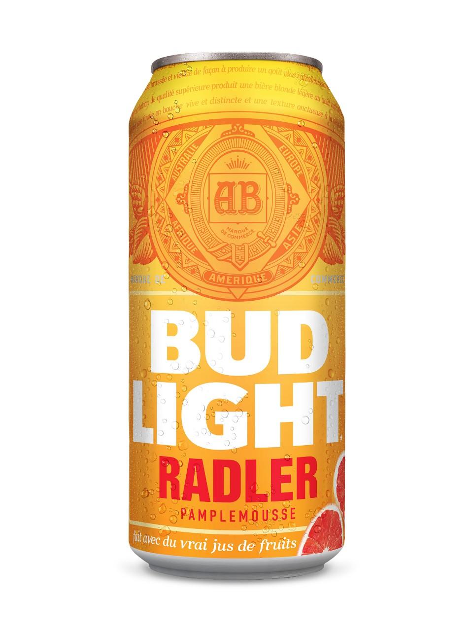 Bud Light Grapefruit Radler Lcbo