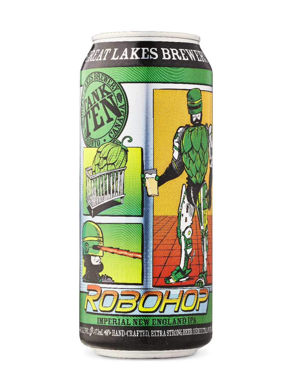 Image for Great Lakes Brewery  Robohop Imperial IPA from LCBO
