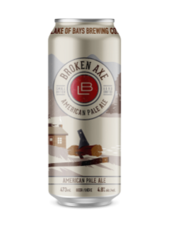 Lake Of Bays Brewing Broken Axe Apa