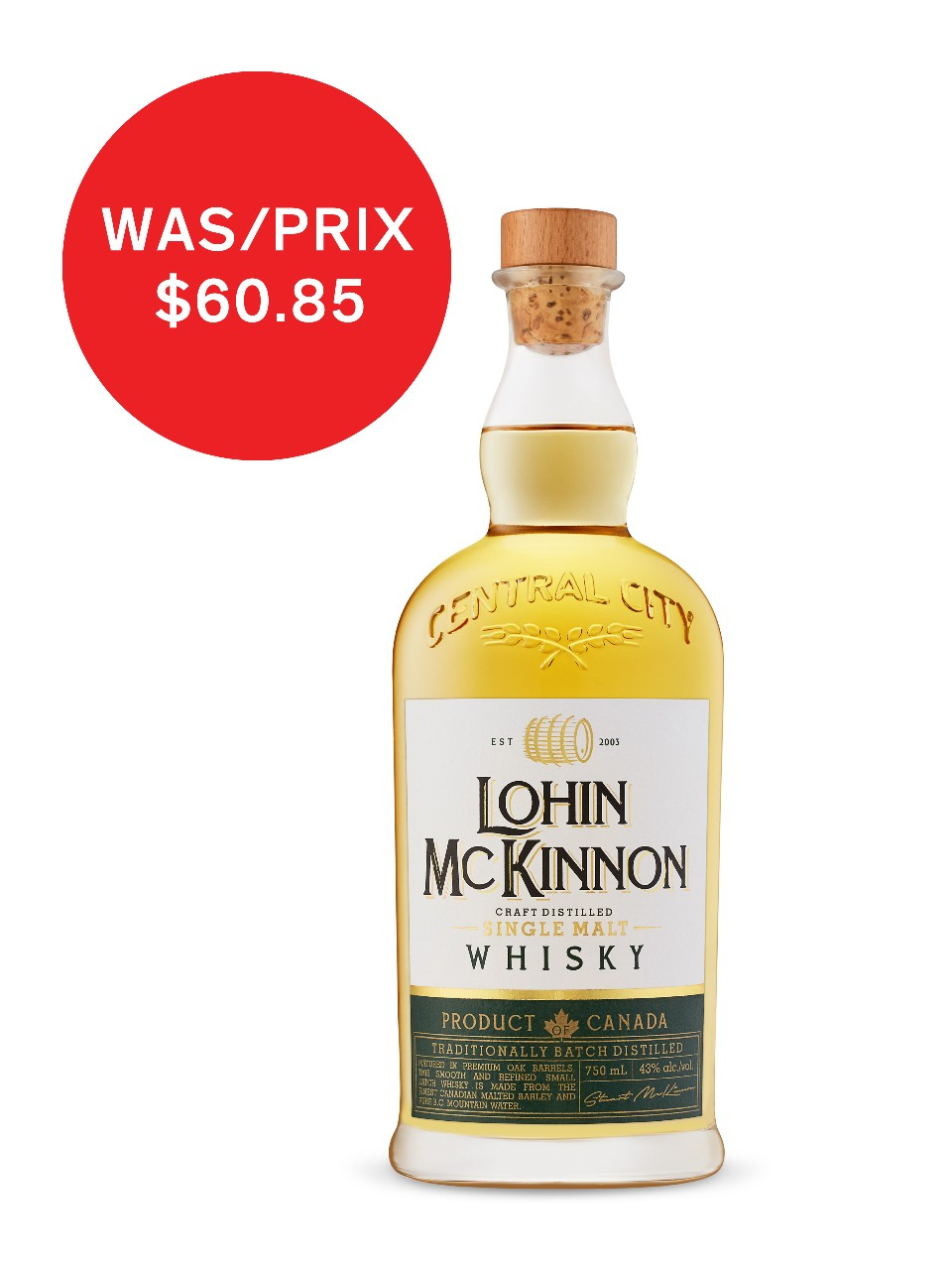 Image for Lohin Mckinnon Single Malt Whisky from LCBO