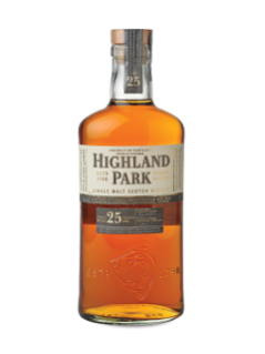 Highland Park 25 Years Old Orkney Islands Single Malt