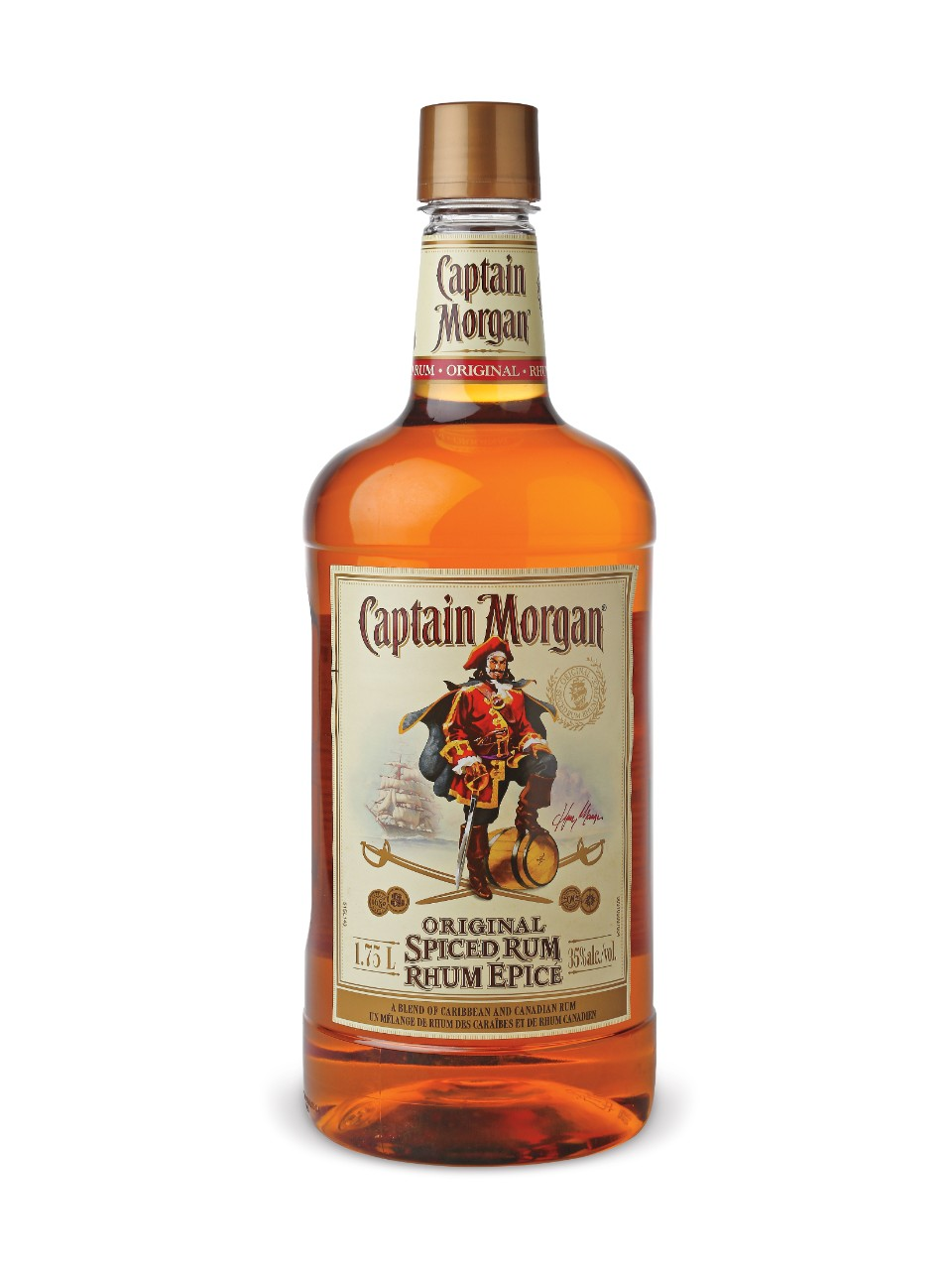 Image for Captain Morgan Spiced Rum (PET) from LCBO