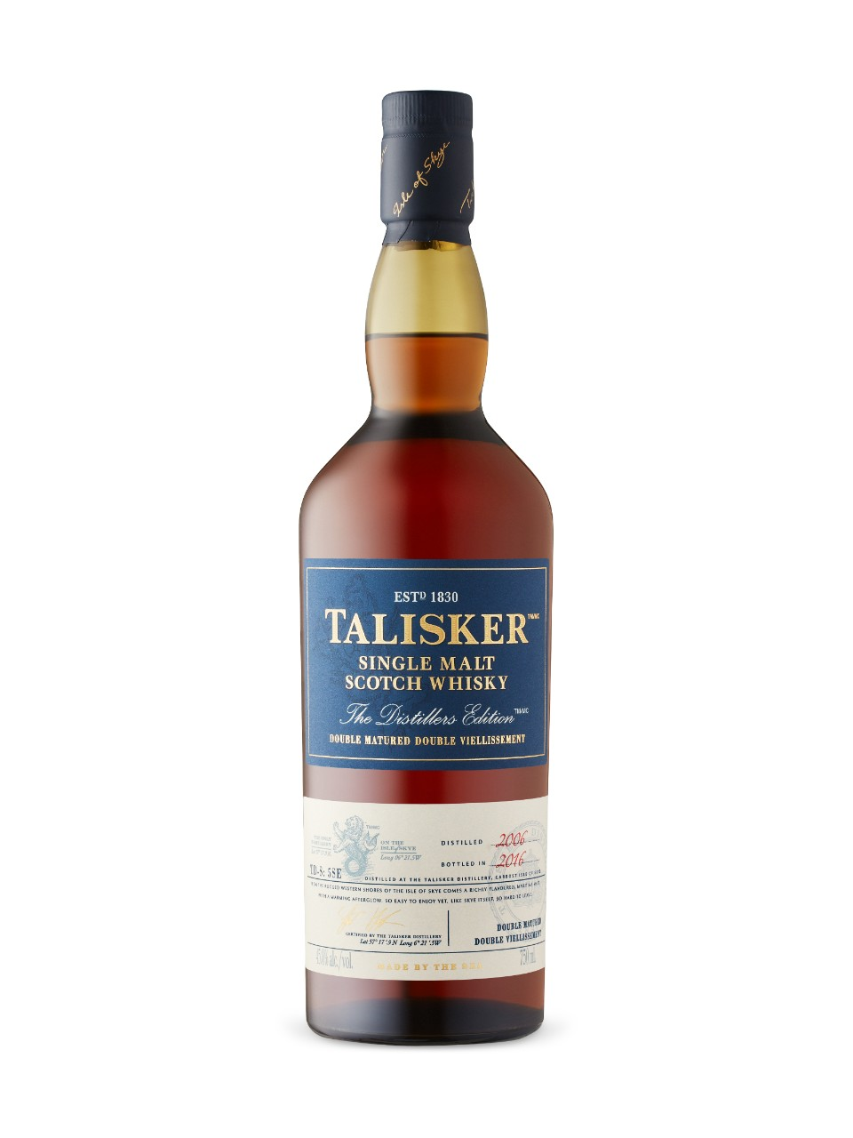 Image for Talisker Distillers Edition Single Malt Scotch Whisky from LCBO