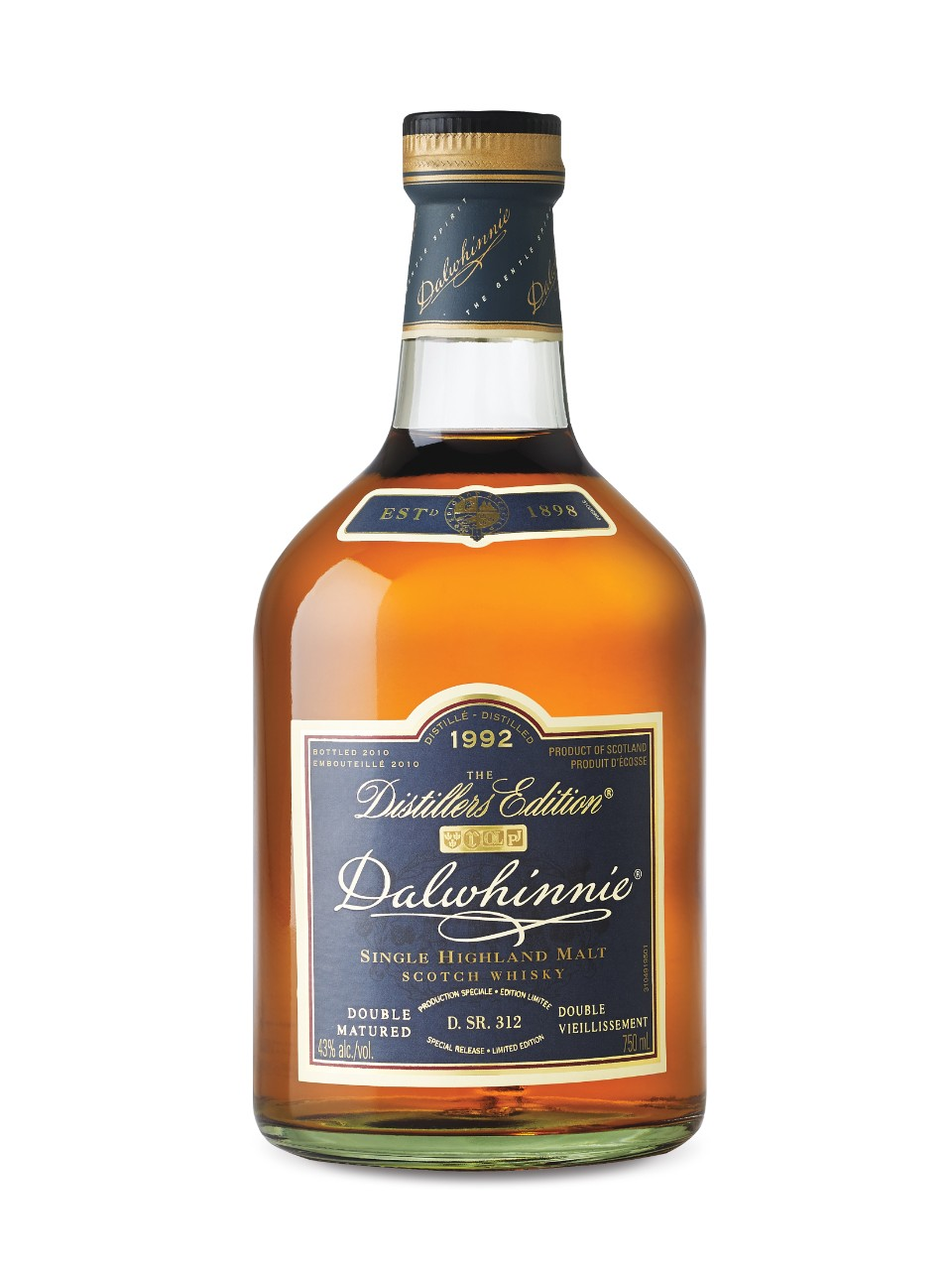 Dalwhinnie Distillers Edition Single Highland Malt Scotch Whisky from LCBO