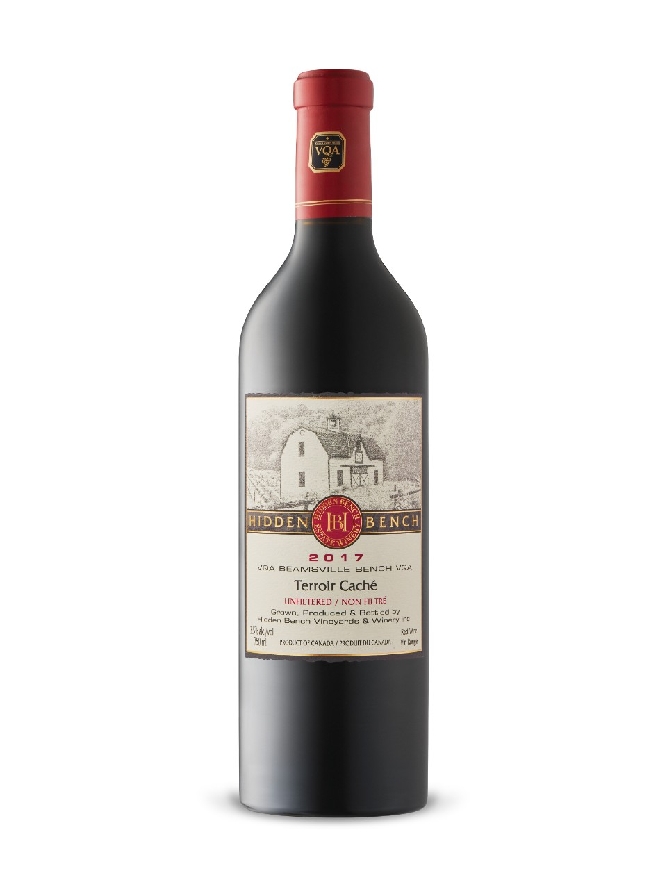 Image for Hidden Bench Terroir Caché 2016 from LCBO