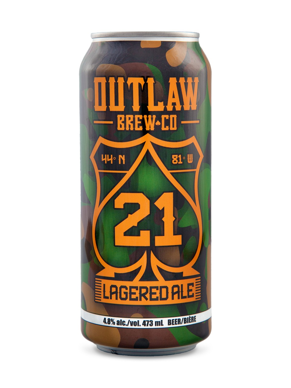 Image for Outlaw Brew Co 21 Lagered Ale from LCBO
