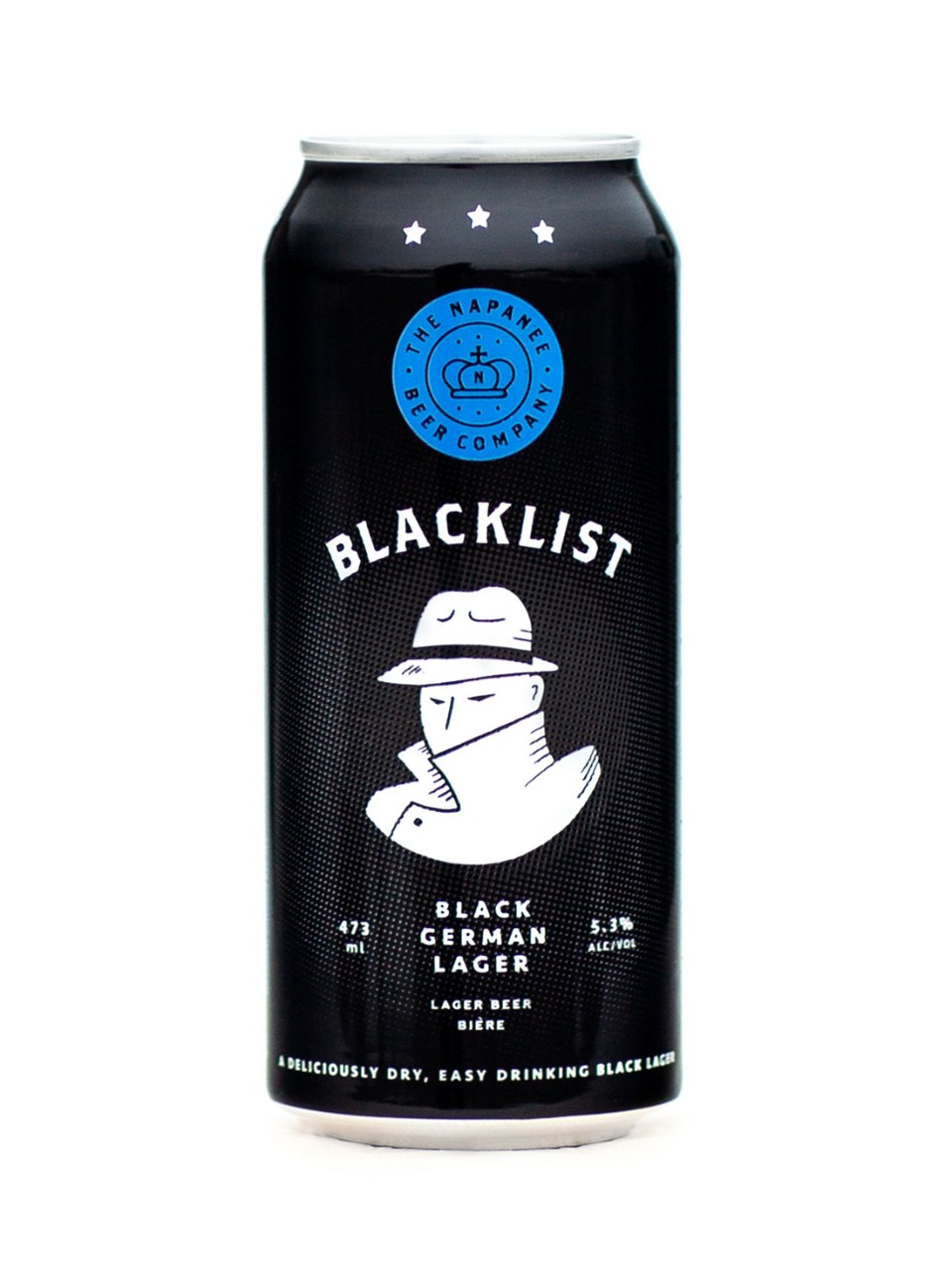 Image for The Napanee Beer Company Blacklist German Lager from LCBO