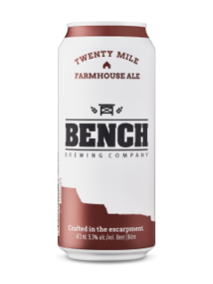Bench Brewing Twenty Mile Farmhouse Ale