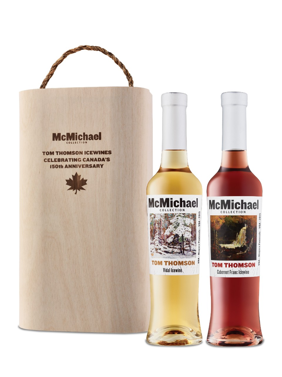 Image for McMichael Collection Tom Thomson Cabernet Franc Icewine & Vidal Icewine Gift Pack 2015 from LCBO