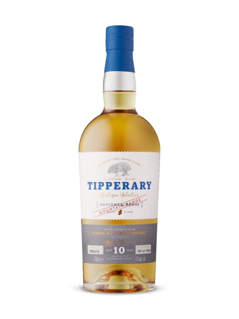 Image for Tipperary Distillery Knockmealdowns 10 Year Old from LCBO