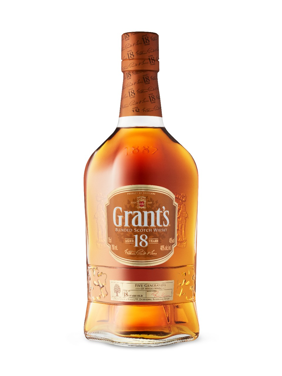 Grant's 18 Year Old Scotch Whisky