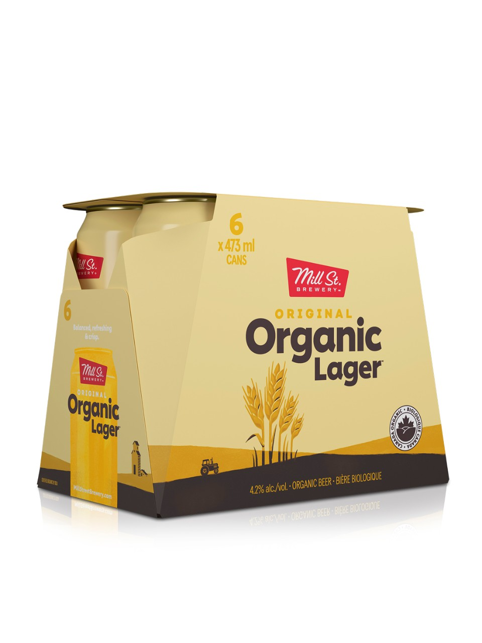 Image for Mill Street Organic Lager from LCBO