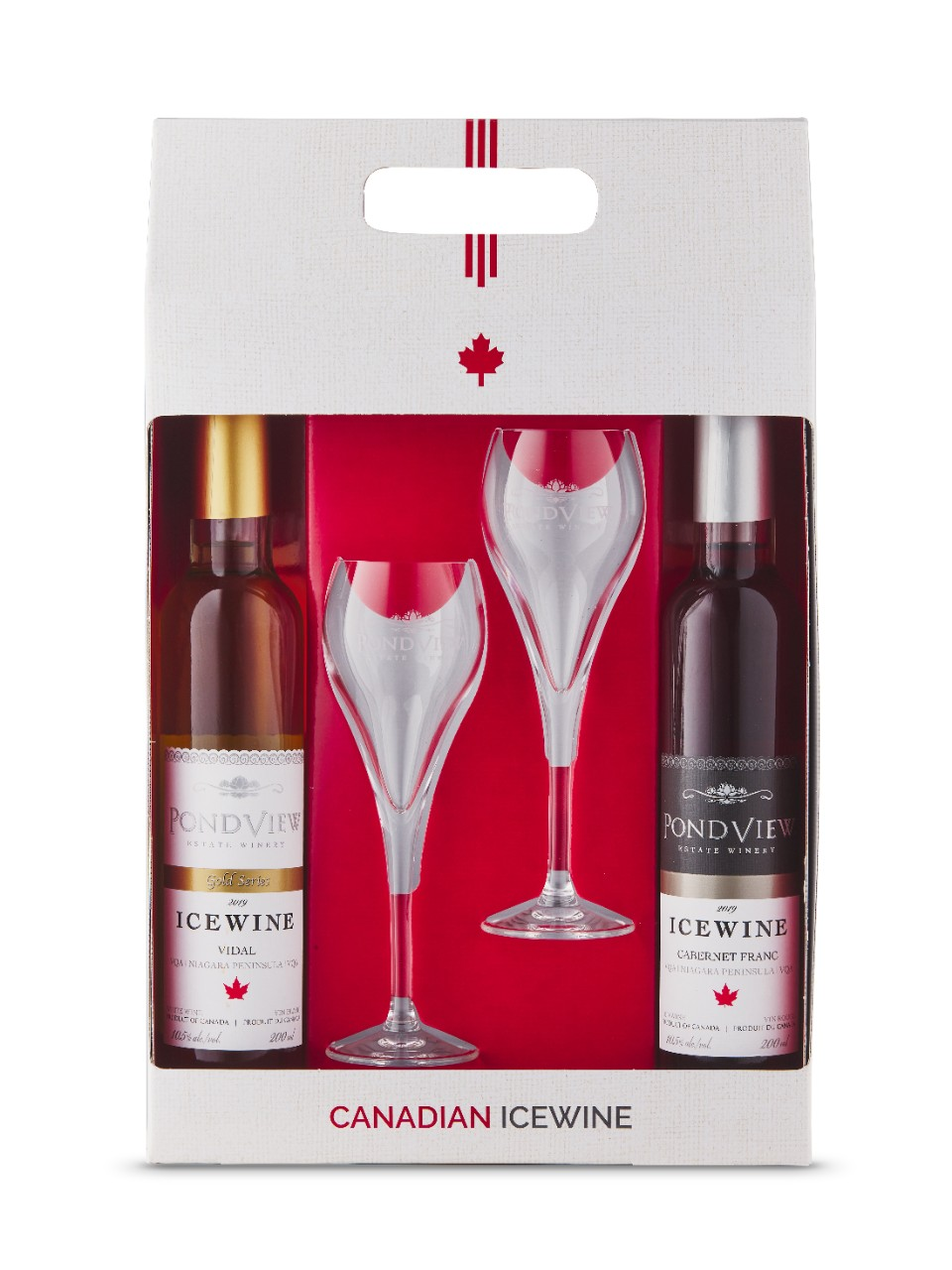Image for Pondview Icewine Duo (Vidal 2015 & Cabernet Franc 2015) 2015 from LCBO