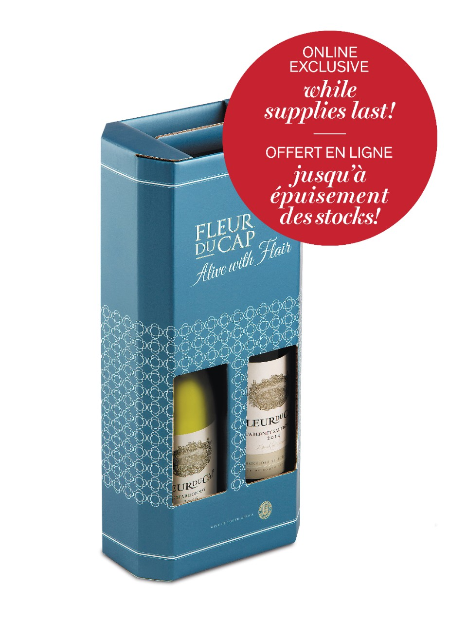 Image for Fleur Du Cap Duo Gift Pack from LCBO