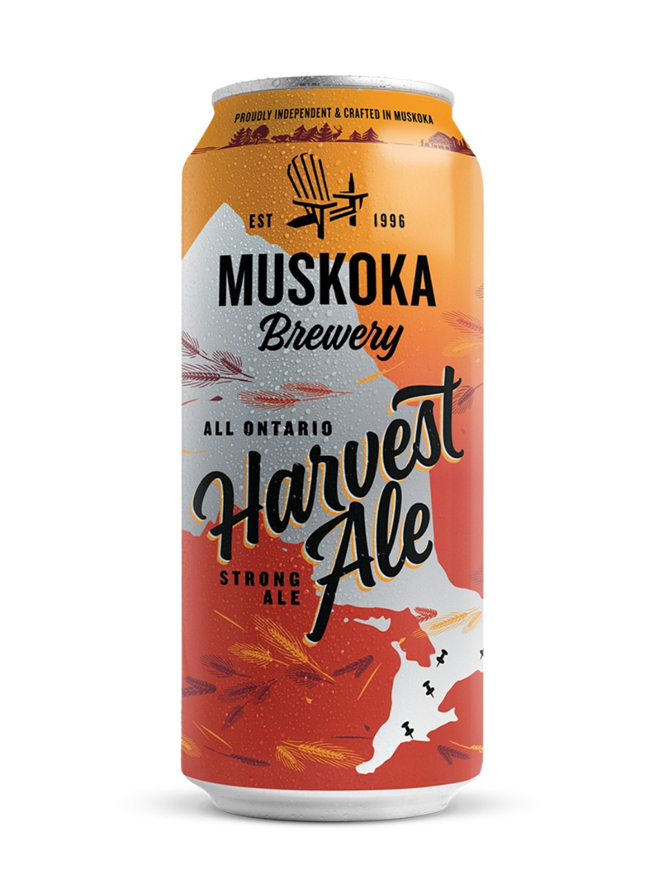 Image for Muskoka Harvest Ale from LCBO